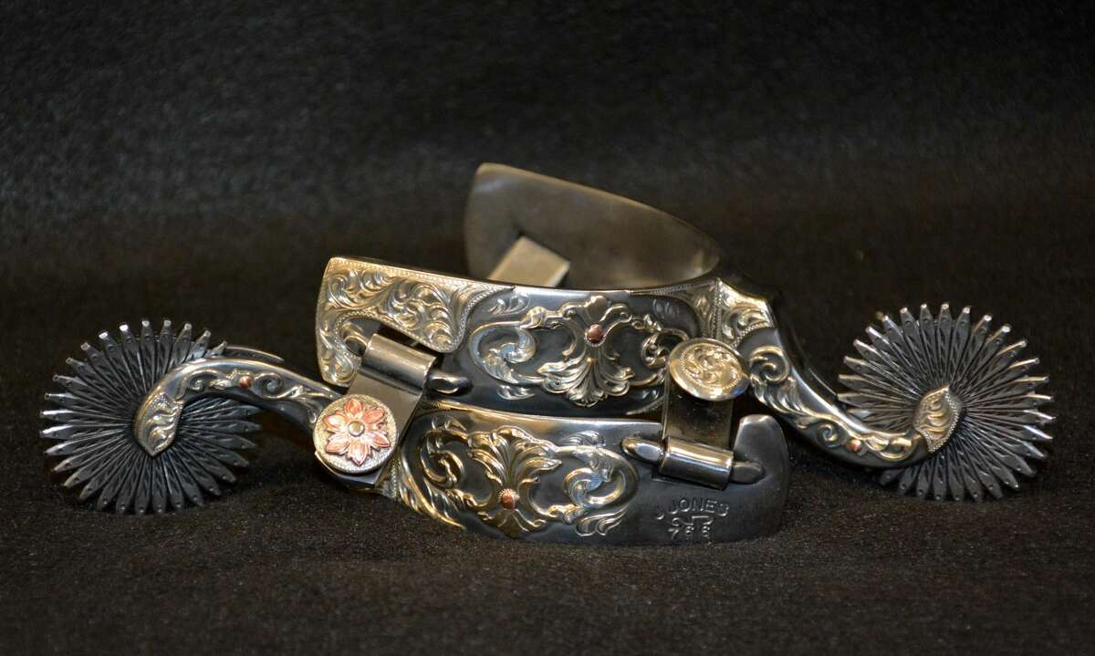Nearly 100 Western art and gear pieces contributed by 31 Western artists and craftsmen will be for sale Saturday, June 5 at the Eighth Annual Summer Stampede Art and Gear Show from 6 to 11 p.m. at the National Ranching Heritage Center. The sale items will include a pair of collector's spurs from third-generation cowboy Jayson Jones of Nogal, N.M., and a bronze sculpture by award-winning Western artist Bruce Greene of Clifton, Texas.