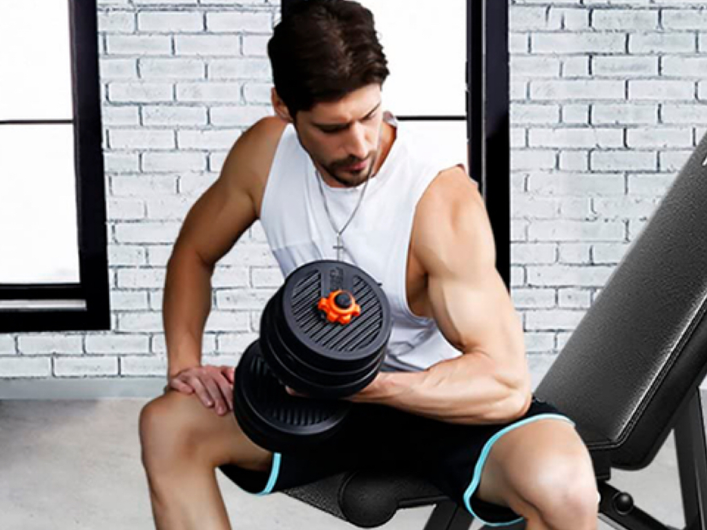 Workout equipment can get pricey, but fortunately, Amazon's currently taking 43 percent off Flybird's Weight Bench.