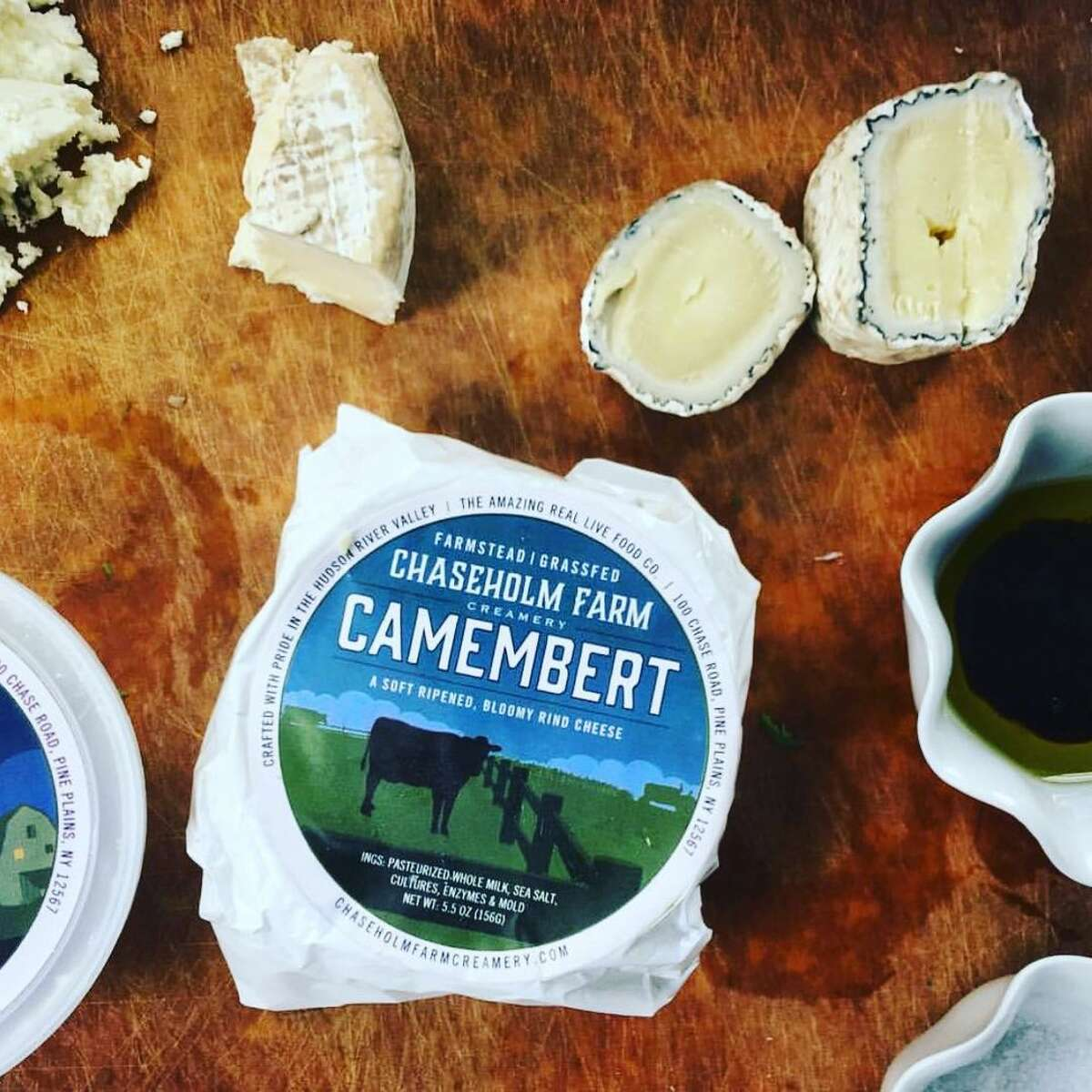 Chaseholm Farm Creamery is run by the brother of Sarah Chase, who owns the grass-fed dairy Chaseholm Farm in Pine Plains.