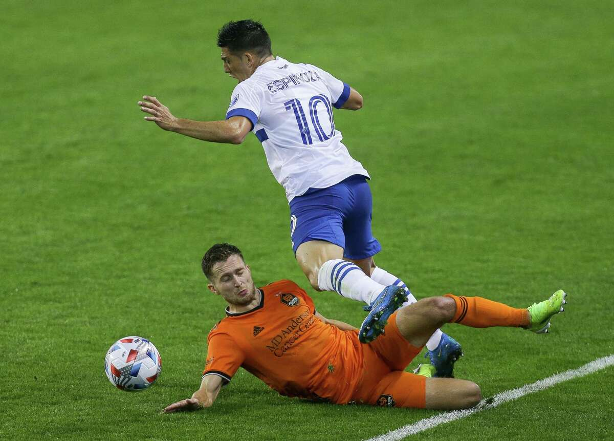 Dynamo defender Adam Lunkvist, making a tackle against San Jose's Cristian Espinoza, says Saturday's game against LAFC is big opportunity for Houston.