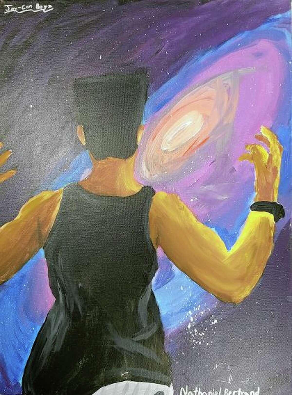 Art by Nathaniel Bertrand, senior.