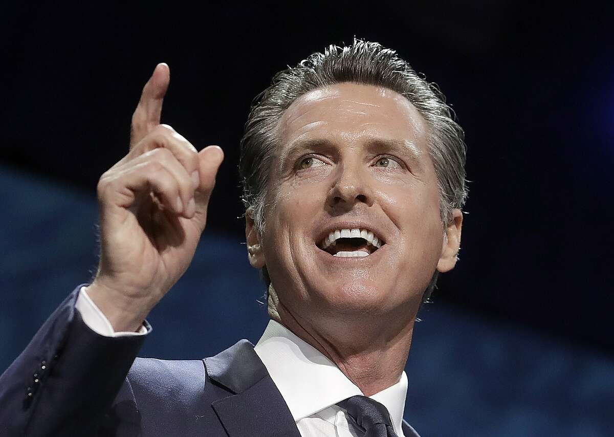 California Democrats want Gov. Gavin Newsom to avoid the fate of former Gov. Gray Davis, who faced in-party opposition.