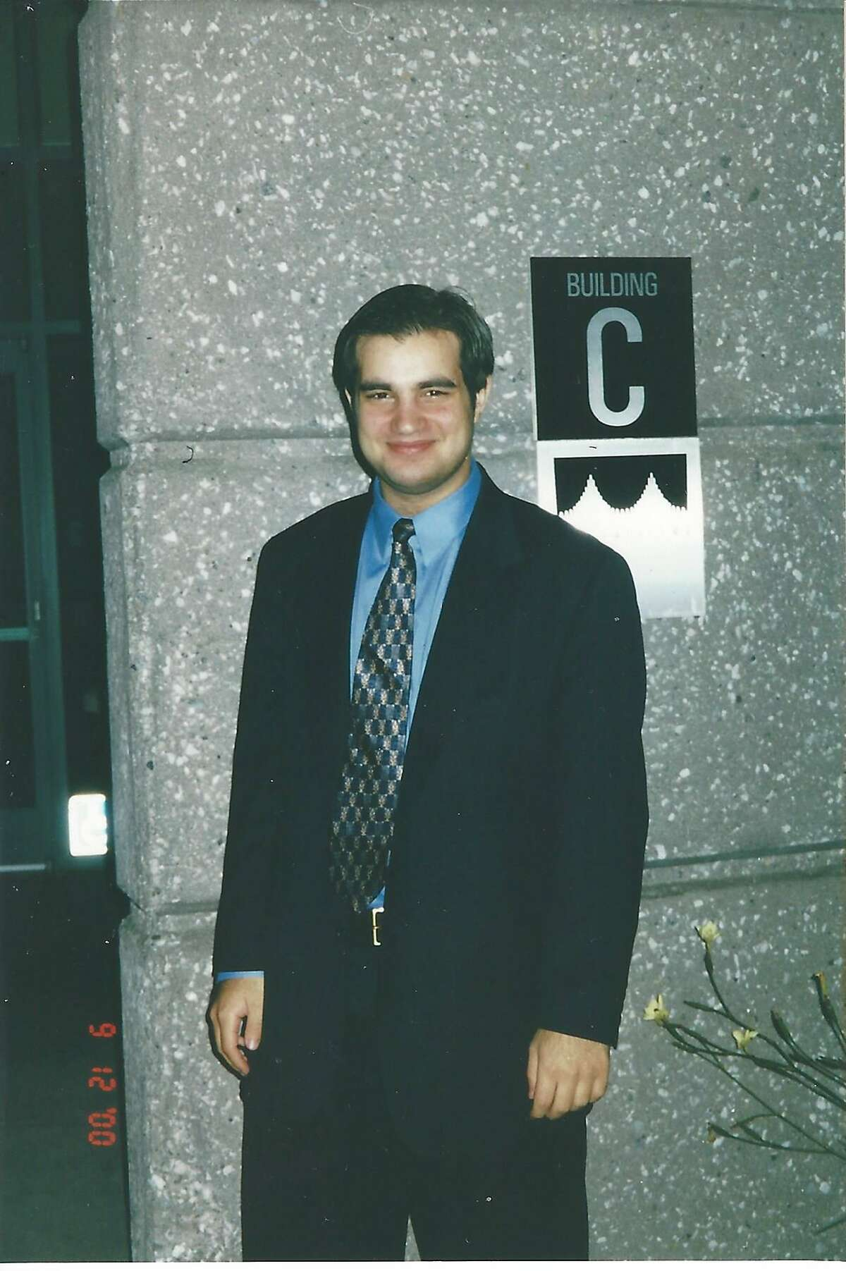 Daniel Kaminsky at a computer convention in 2000.