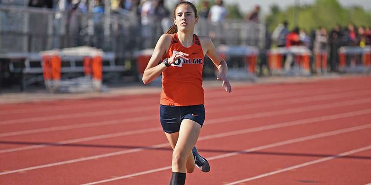 Bridgeland High School sophomore Emily Ellis qualified for the UIL Track and Field State Meet in Austin in three events. She won the 3,200-meter run at the Region II-6A meet and finished second in the 800- and 1,600-meter runs.