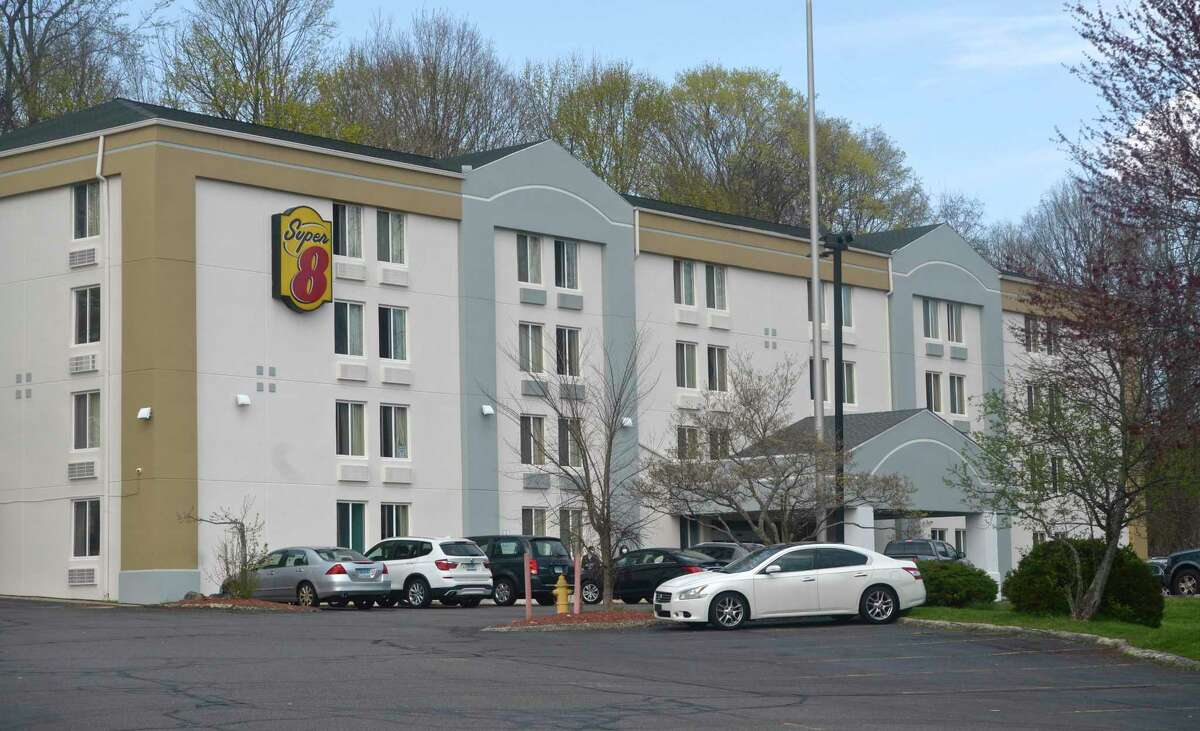 Danbury is poised to have a first-of-its kind homeless shelter at the Super 8 Motel, on Lake Avenue Extension, in Danbury, Conn.. Wednesday, April 14, 2021.