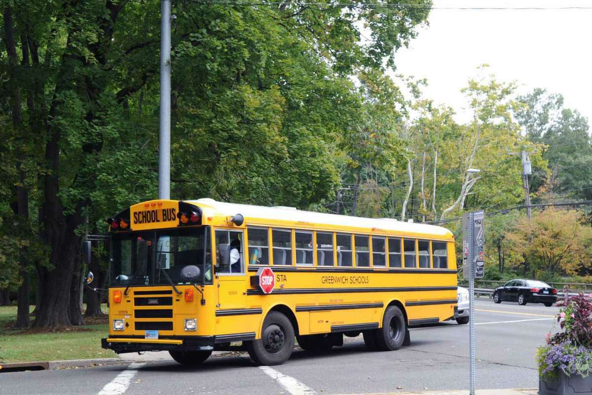 A Greenwich school bus.