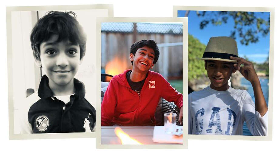 The Pruthi family shared these photographs of their son Arunay from over the years.