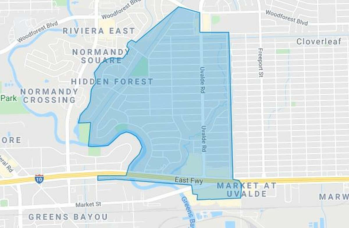 A boil water notice has been issued for part of eastern Houston.
