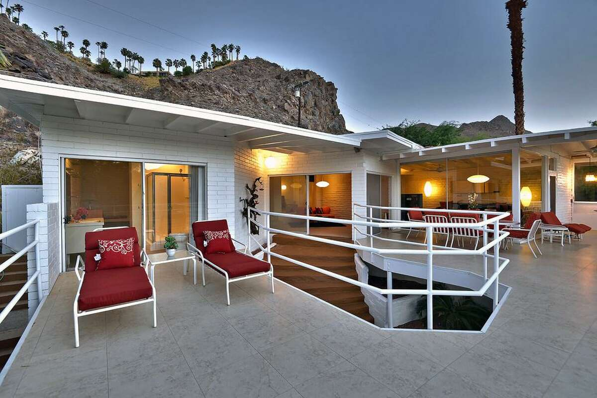 Los Angeles resident Jeffrey Steenberg paid $1.35 million for a Palm Springs retreat where billionaire tycoon and filmmaker Howard Hughes once lived. Steenberg, a hairstylist-designer turned developer, intends to renovate the home, which was previously owned by writer-producer Paul W. Keyes.