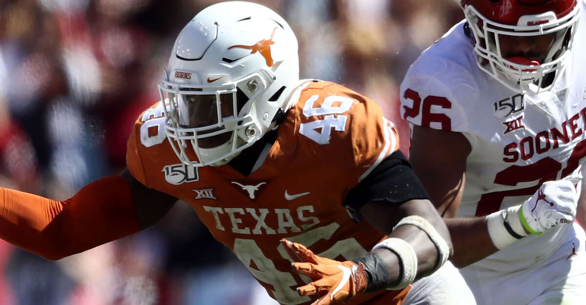 Former Oak Ridge star Joseph Ossai had a standout career at Texas.