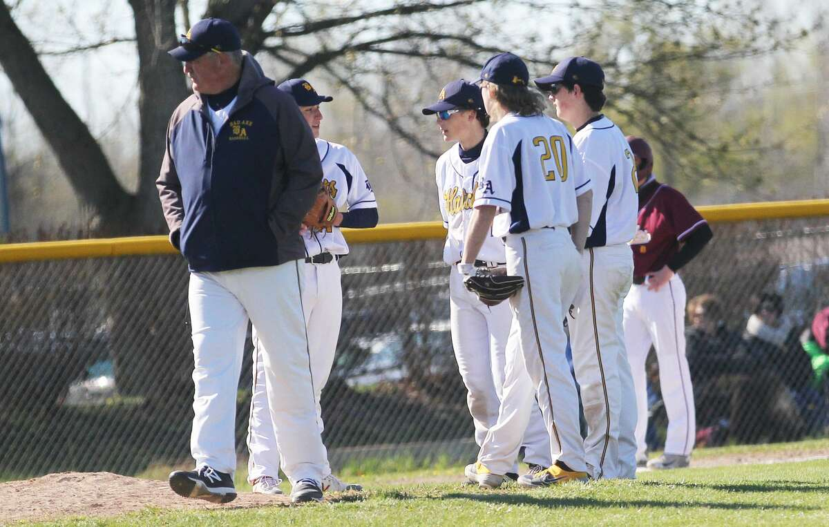 The Bad Axe varsity baseball team earned a sweep of visiting Deckerville on Friday afternoon, winning by scores of 17-1 and 18-3.