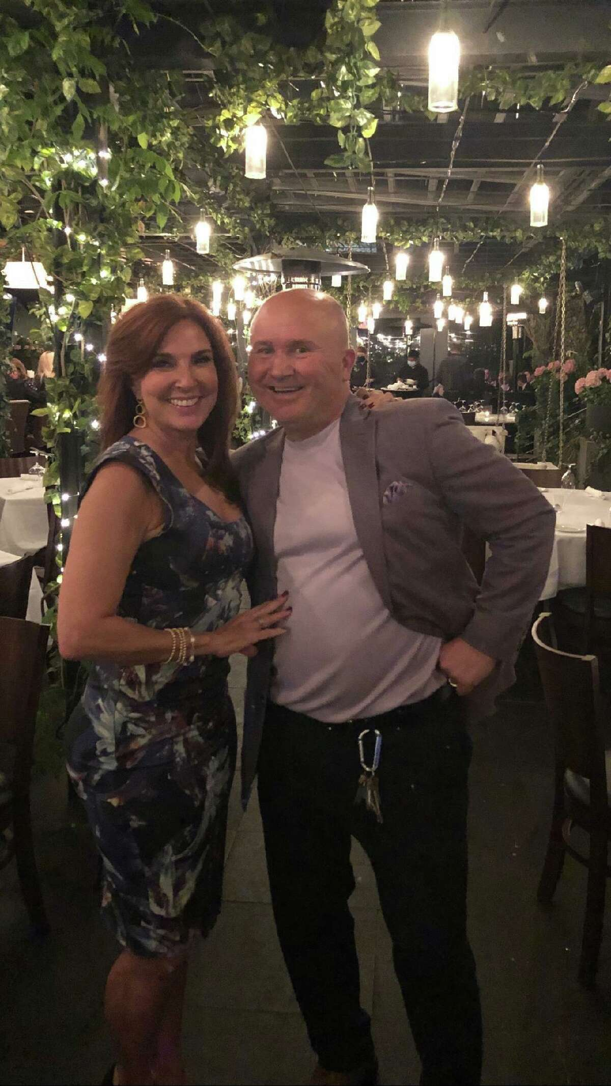 TV Judge Marilyn Milian of 'The People's Court' with Tony Capasso at Tony's at the JHouse in Riverside recently. Daytime Emmy Award-winning judge Marilyn Milian was seen having dinner at Tony's at the JHouse in Riverside. Milian presides over the American courtroom television series