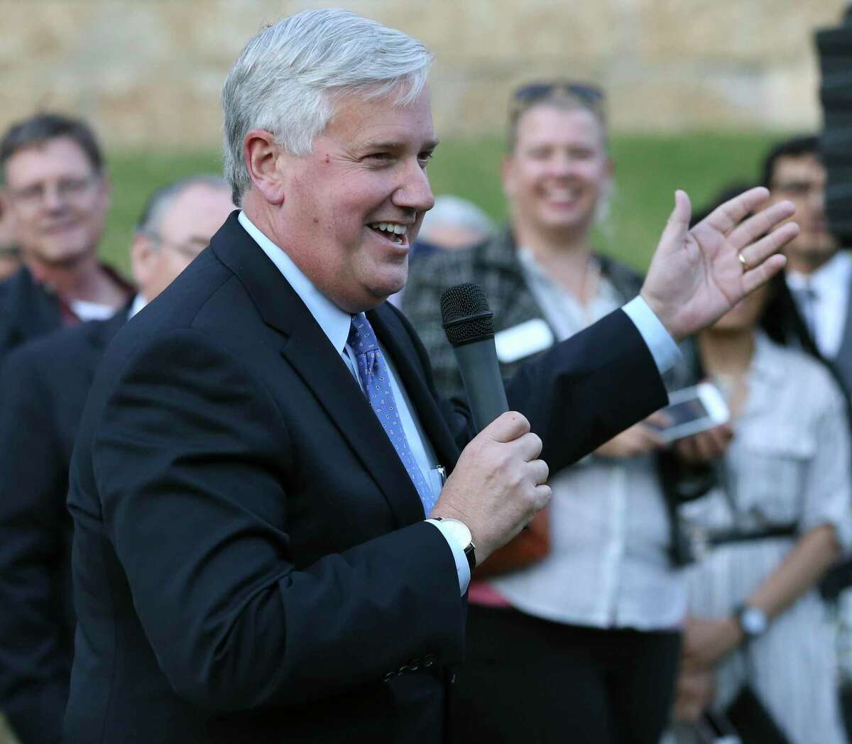 Mike Collier, who came close in the 2018 lieutenant governor's race, is gearing up to take on Lt. Gov. Dan Patrick again in 2022, but this time emphasizing issues such as Medicaid expansion and maintenance of the state's power grid.