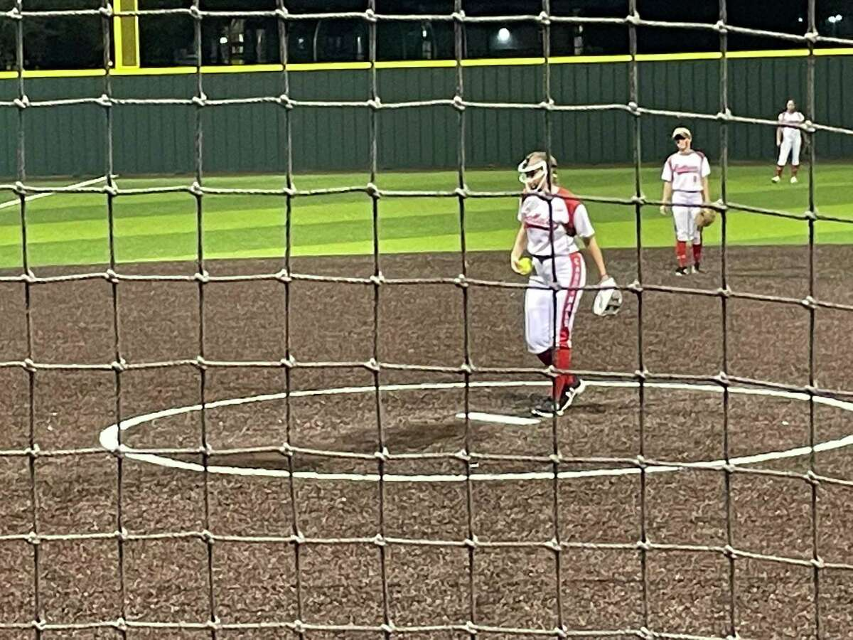 Bellaire sophomore Claire Shelley got the win and also scored three runs in the Lady Cardinals' 16-3 victory over Memorial on April 30 as Bellaire advances past the bi-district round for the 25th consecutive time