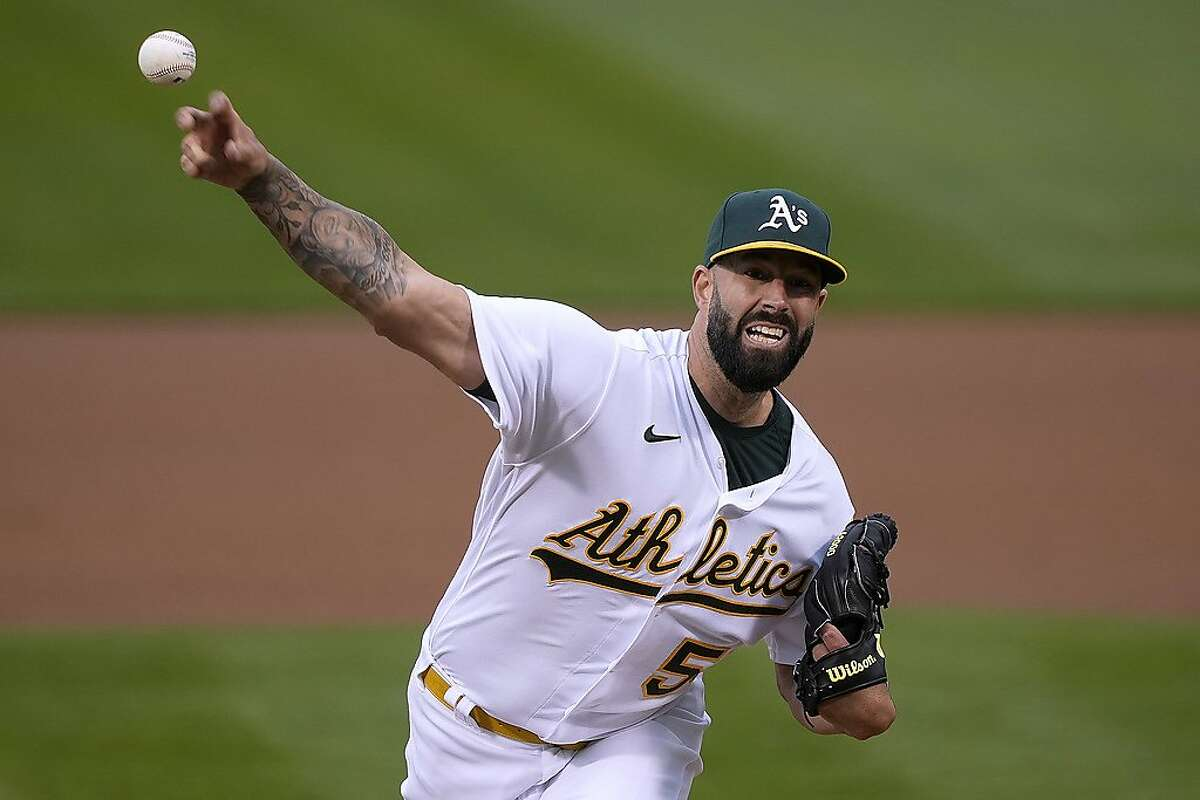 A's pitcher Mike Fiers worked six innings against Baltimore, yet became the latest Oakland starter to pitch with little run support in a 3-2 loss.