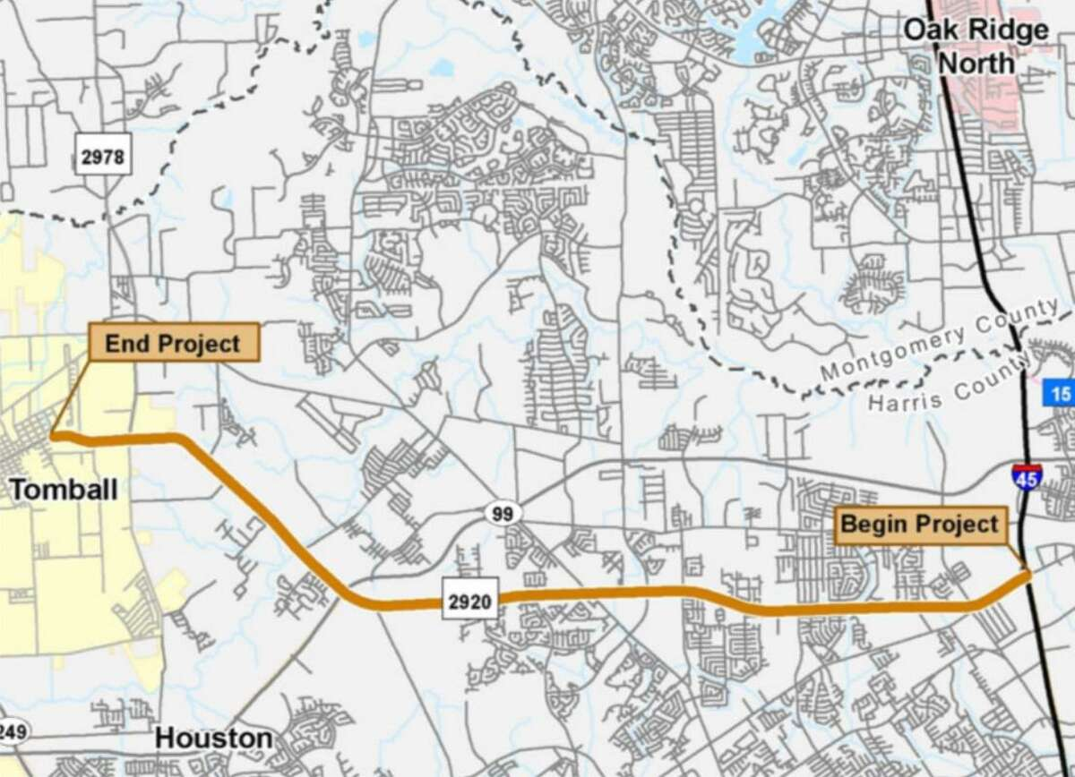 TxDOT is planning a construction project to make FM 2920, from I-45 in Spring to North Willow Street in Tomball, a safer road.