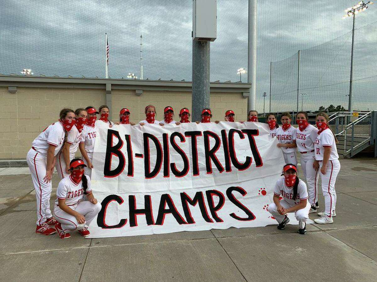 The Katy softball team completed a sweep of its Region III-6A bi-district playoff series against Fort Bend Austin, winning 6-0 and 11-1.