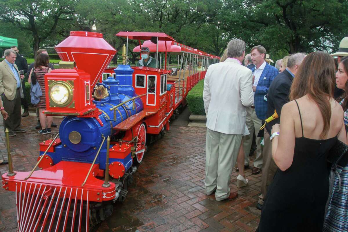 Evening in the Park, hosted by the Hermann Park Conservancy, in Houston on April 30, 2021.
