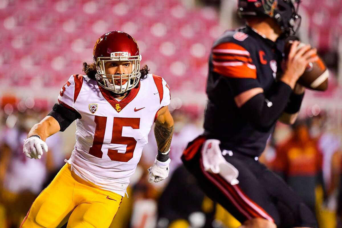 Southern Cal safety Talanoa Hufanga, drafted by the 49ers in the fifth round, knows he won't be a starter in his first year but instead has set making the Pro Bowl as a special teams player as his goal.