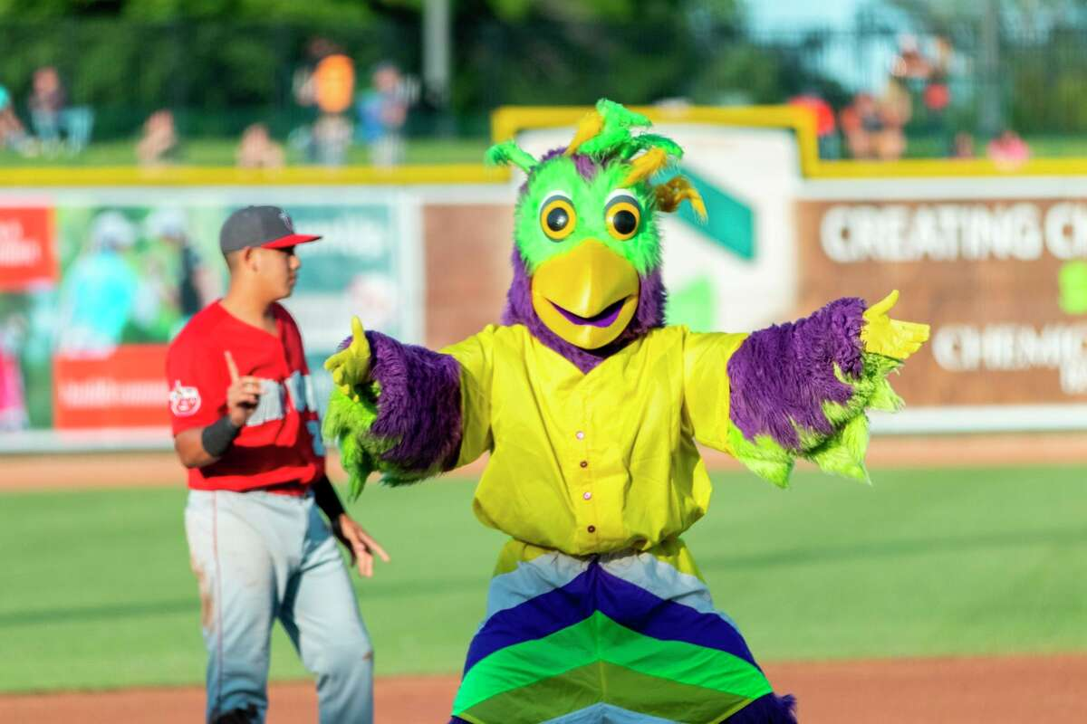 The Great Lakes Loons will continue to do promotions during their home games at Dow Diamond this year, but they will take place away from the field, in other parts of the ballpark. (Daily News file photo)