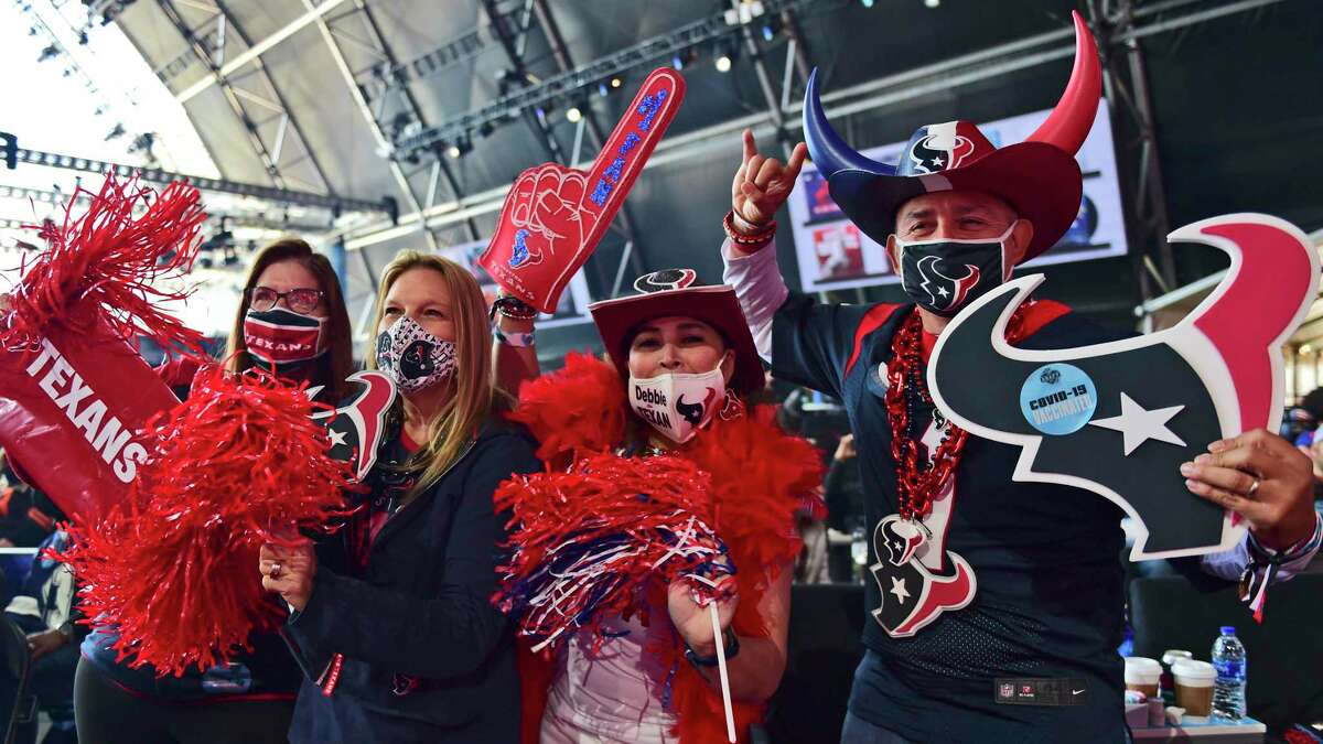 Texans fans who made the trip to Cleveland for this year's draft found some picks to cheer about but next year will be a lot different.