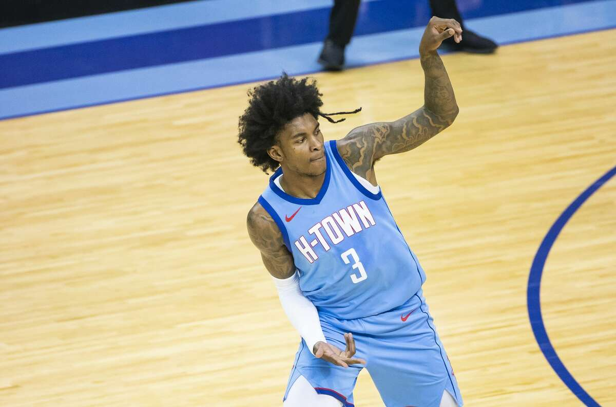 After a call-up from the G-League, Kevin Porter Jr. showed enormous potential during his first Rockets season.