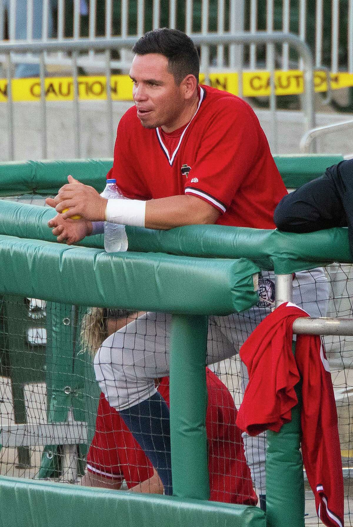 Outfielder Beder Gutierrez is confident he can make the Tecolotes' roster this season.