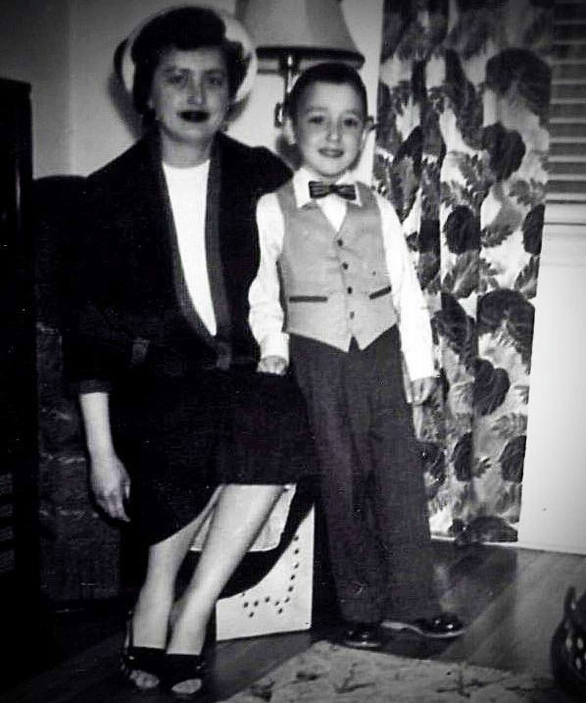 Columnist Joe Pisani as a boy with his mother.