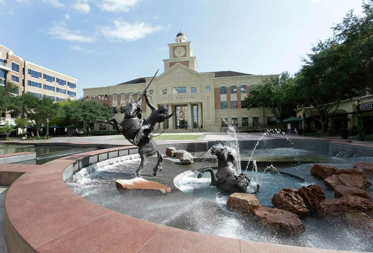 The Sugar Land City Hall, 2700 Town Center Boulevard, is shown in this file photo.
