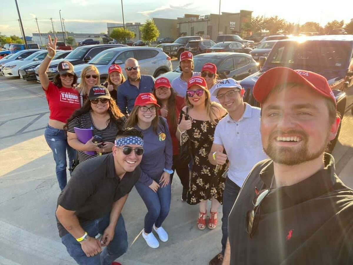 Members of the Webb County Republican Party canvassed in south Laredo on Saturday in preparation for the 2022 elections.