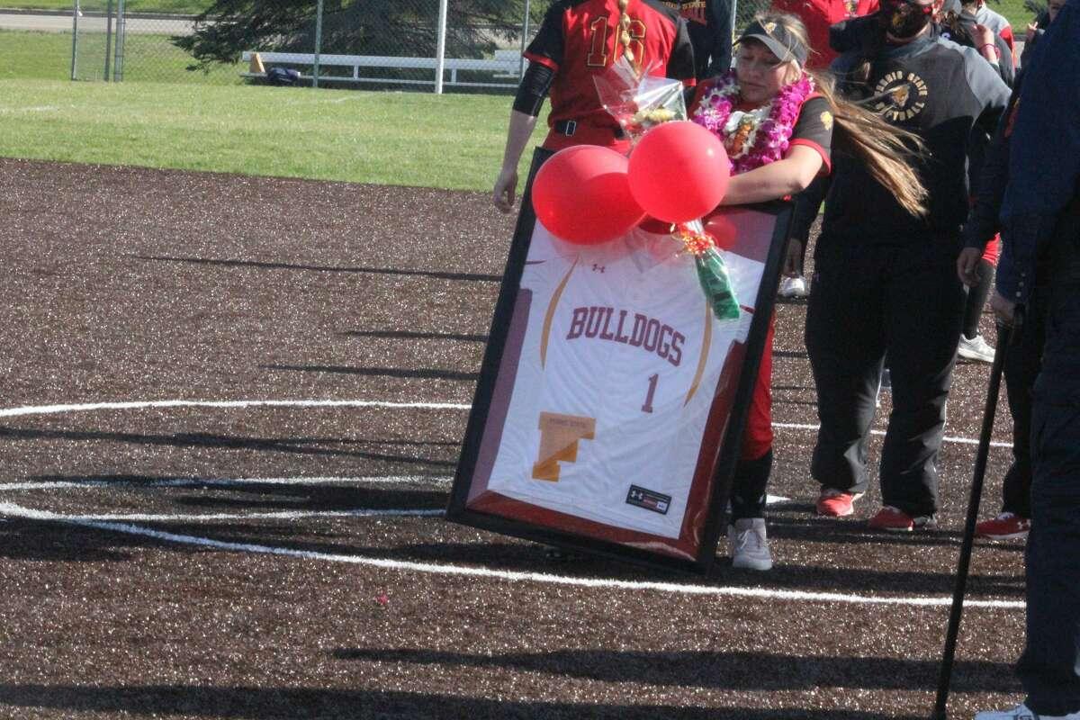 Ferris' softball team splits a twinbill with Purdue-Northwest