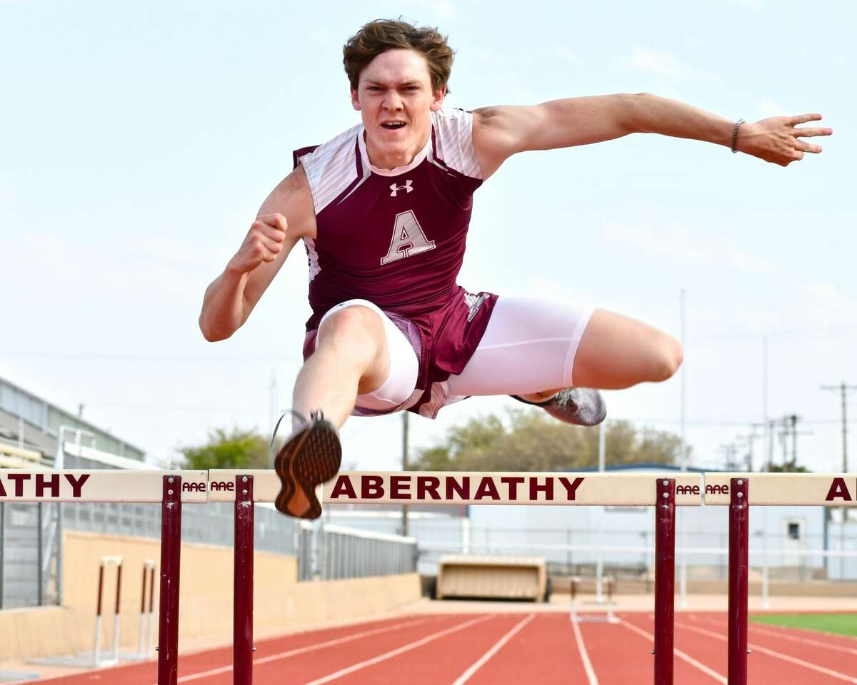 Abernathy's Konnor Hoerman enters the UIL Class 3A State Track & Field Championships as the favorite in the boys 110-meter hurdles.