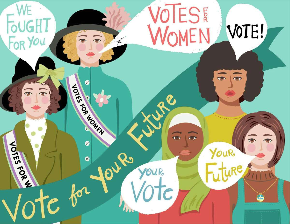 """""""Celebrating the Centennial: The New Suffrage Scholarship"""" is set to be presented by Trisha Franzen on May 13 as a virtual presentation available by Zoom. (Courtesy image)"""