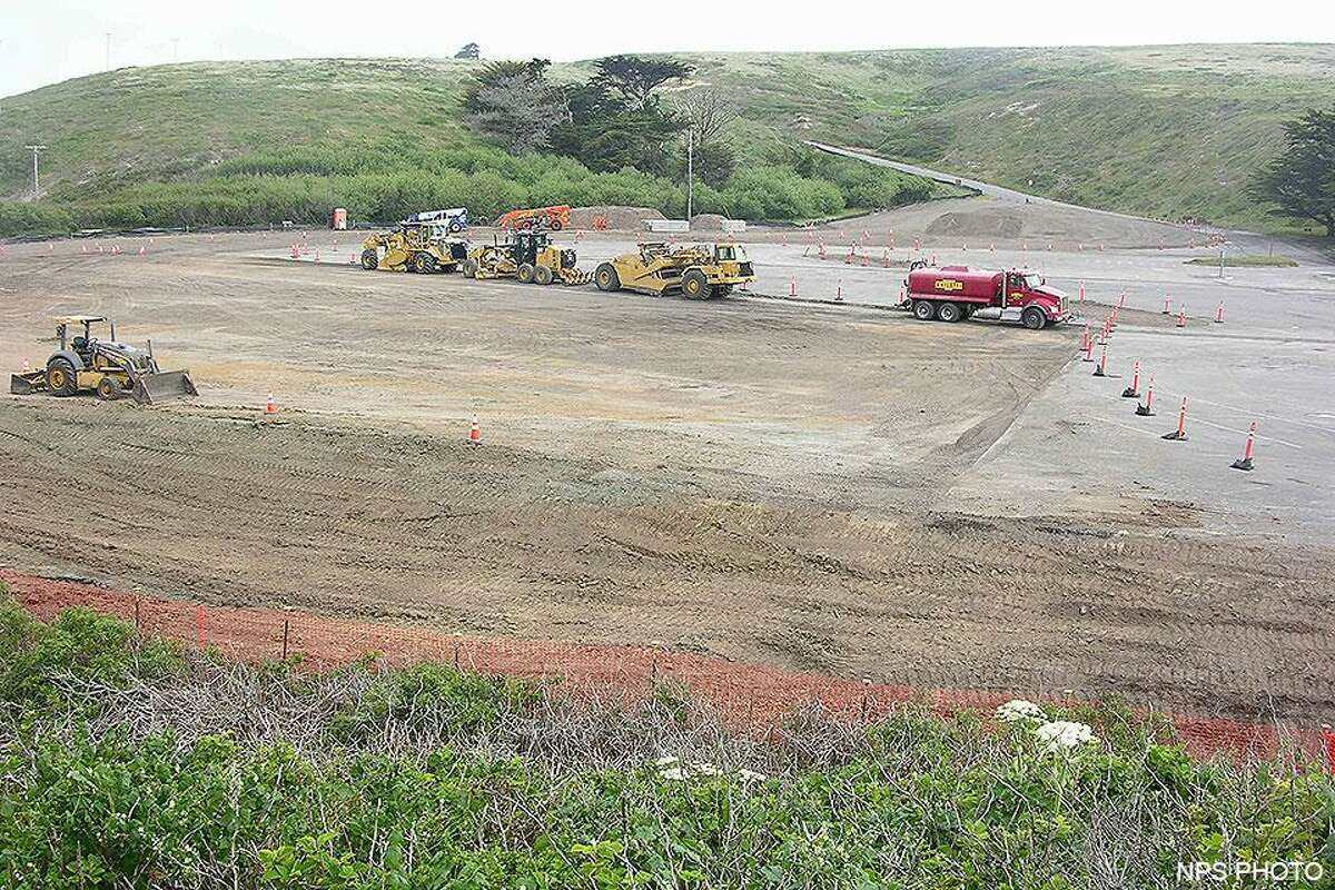 Drakes Beach, a popular destination in Point Reyes National Seashore in Marin County, is undergoing wetland restoration and road repairs and construction.