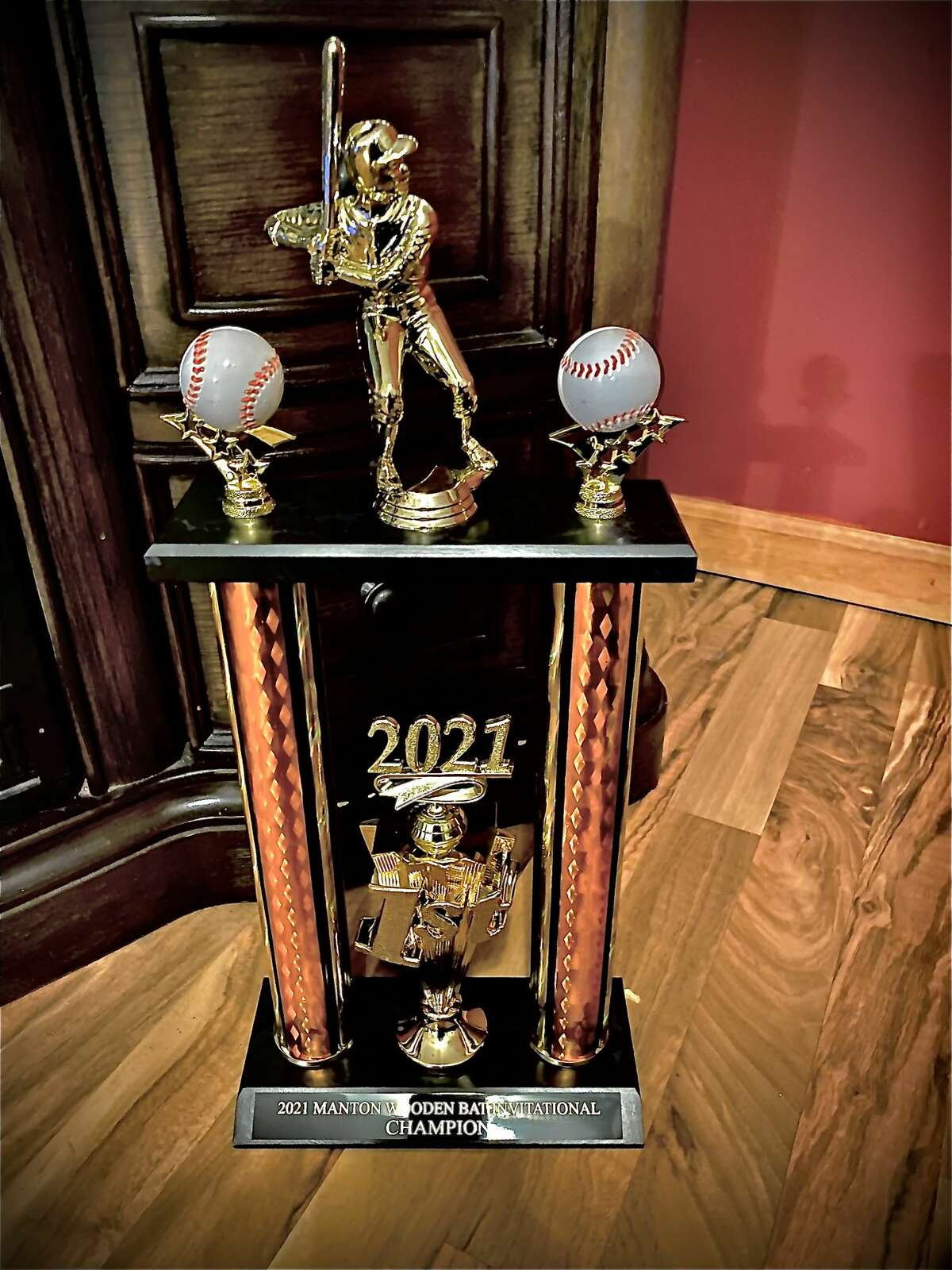 Frankfort took home the championship trophy from the Manton Wooden Bat Invitational on Saturday.
