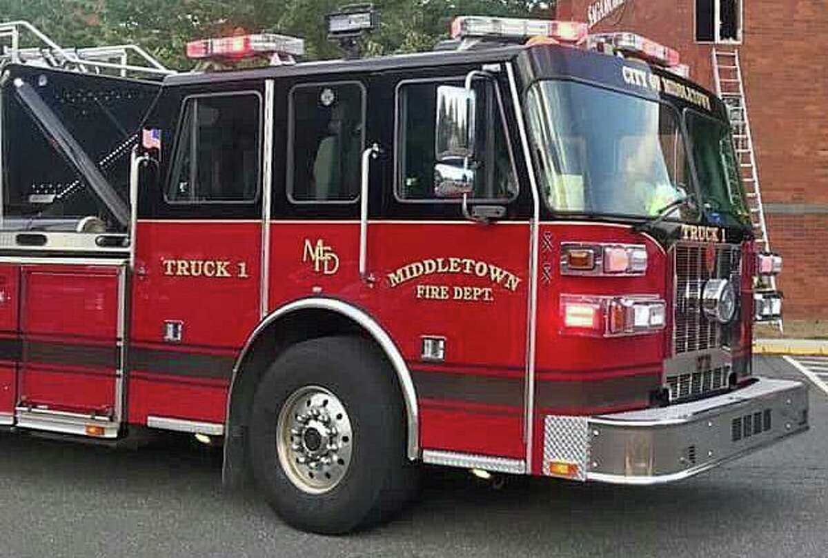 A file photo of a Middletown, Conn., fire engine.
