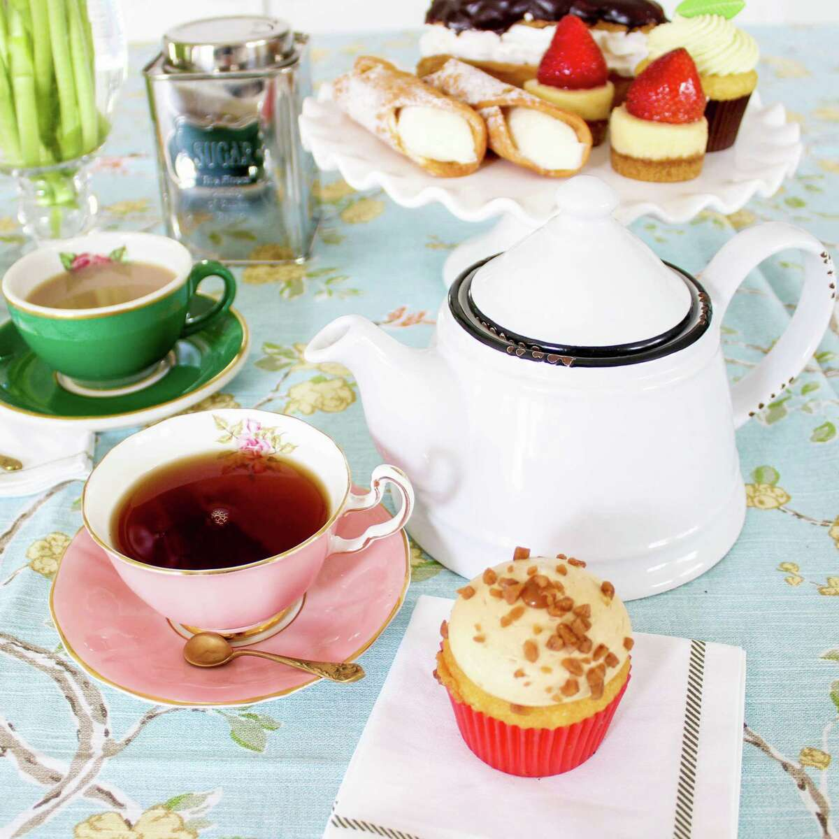Celebrate Mother's Day and treat her like a queen at high tea.