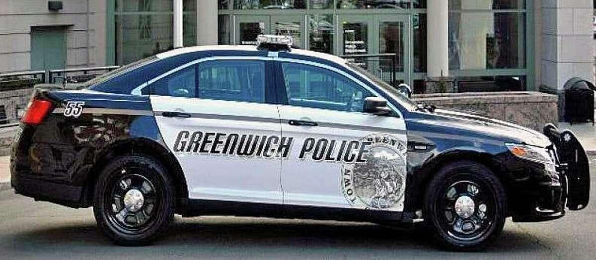 A file photo of a Greenwich, Conn., police cruiser.