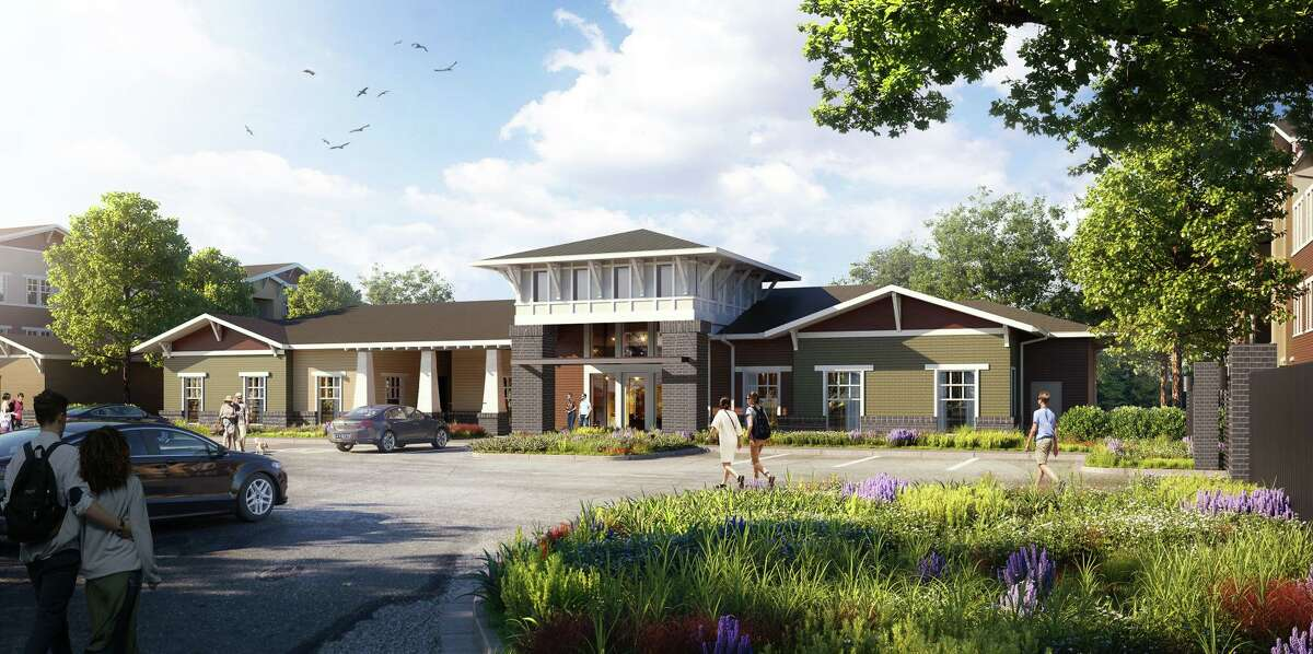 A rendering of the Frontera Crossing apartment complex.