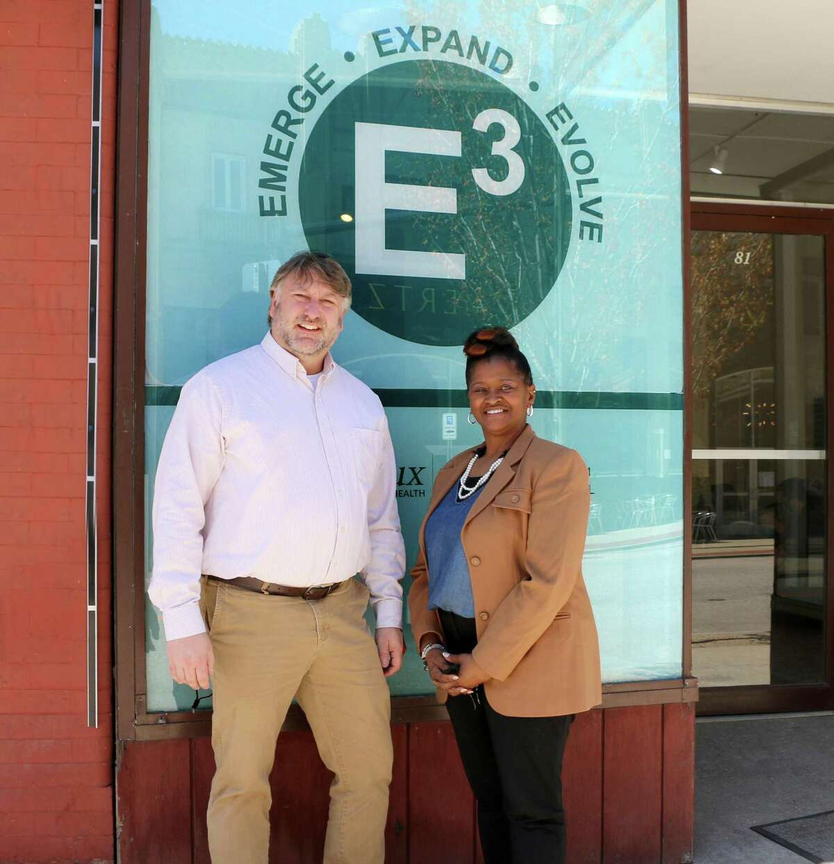 Sean Kavanaugh and Regina Long, new program leaders at the E3 Transition program.