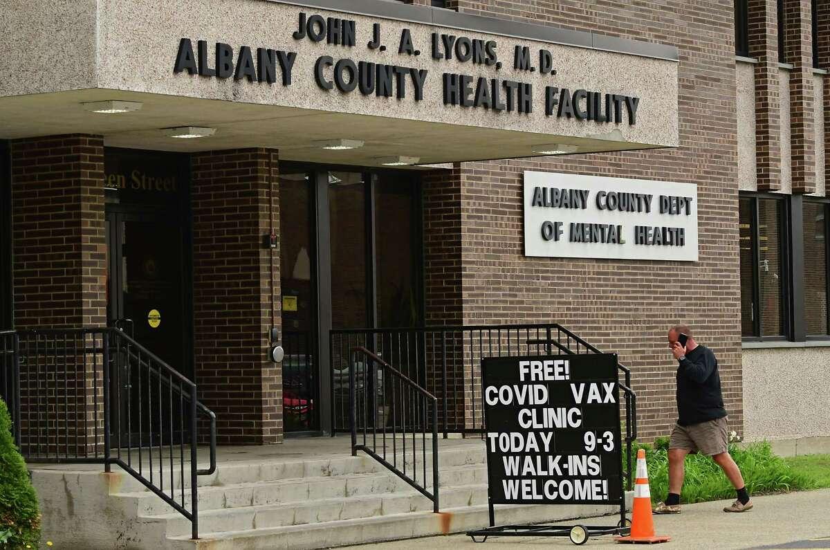 County Department of Health at 175 Green St. in Albany, N.Y. (Lori Van Buren/Times Union)