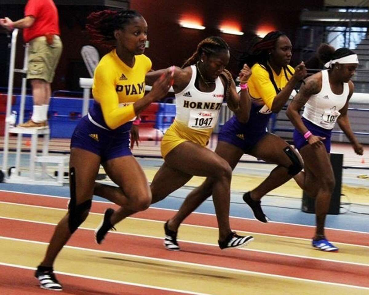 Kaizha Roberts, a native of Plainview, has continued to excel on the track during her Prairie View A&M career.