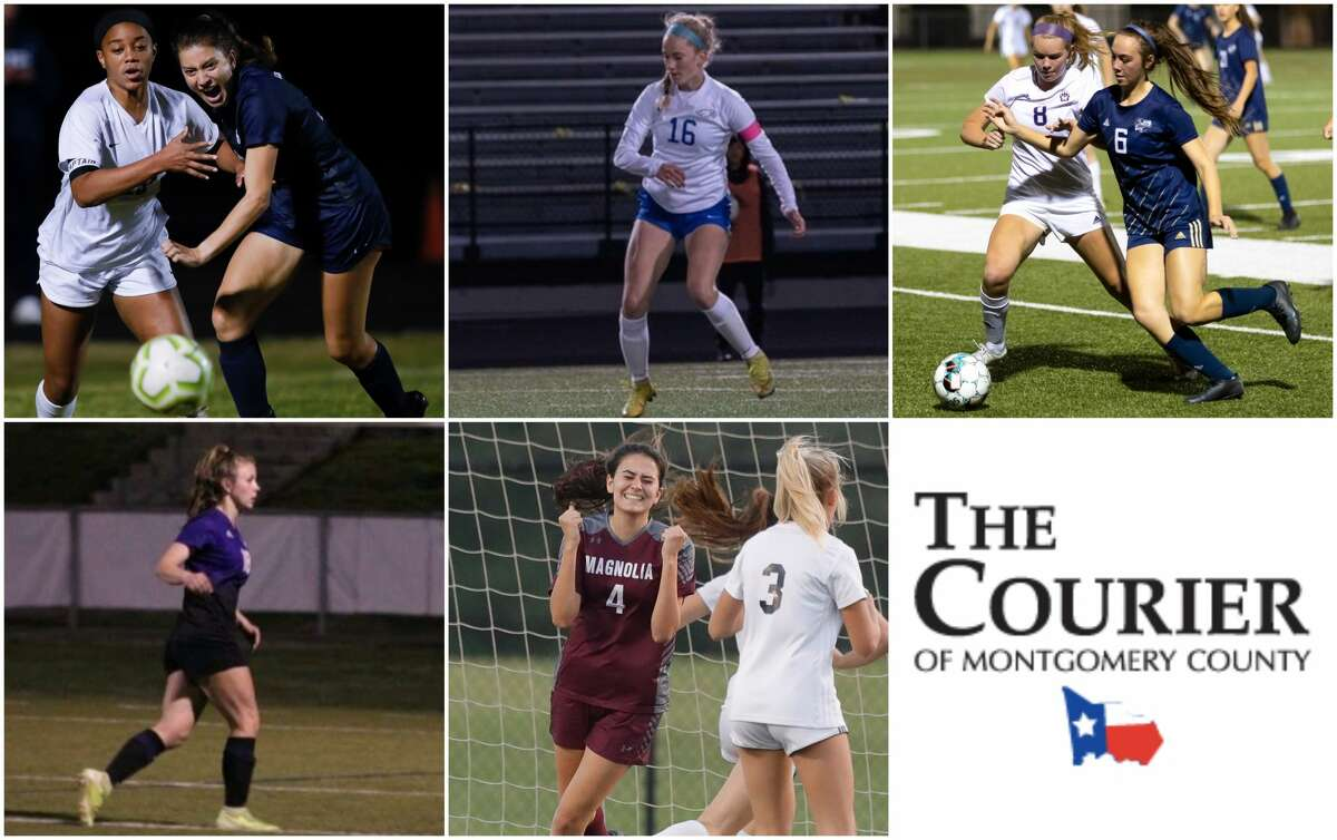 Samantha Curry (College Park), Madison Wetzig (Oak Ridge), Morgan McGee (Lake Creek), Ranee LeVasseur (Montgomery) and Danika Etter (Magnolia) are nominees for The Courier's Defensive MVP.
