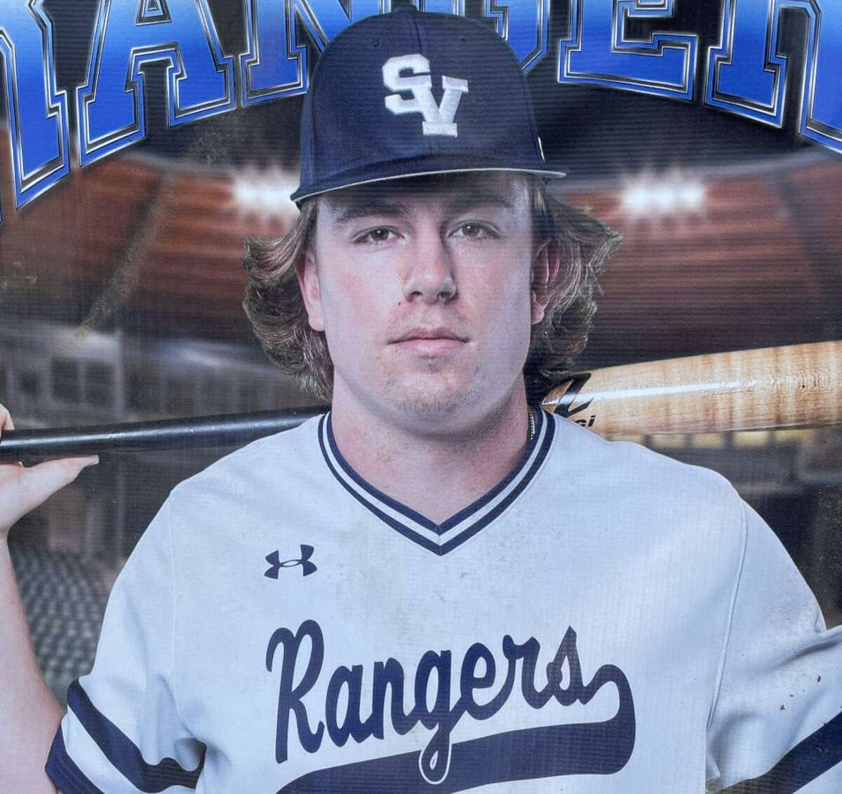 Garrett Brooks Went 2 for 3 with two home runs and three RBIs and a stolen base in the Rangers' 9-5 victory over Steele