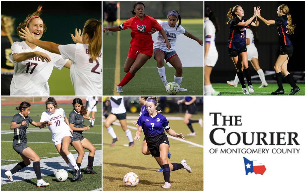 Sara Giannotti (Magnolia), Samone Knight (The Woodlands), Reese Rupe (Grand Oaks), Laney Gonzales (Magnolia) and Makenzie Griffith (Montgomery) are nominees for The Courier's Offensive MVP.