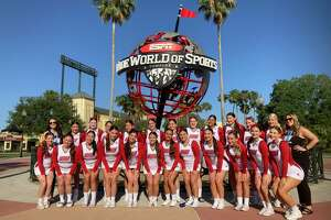 Sacred Heart cheerleading competed at the UCA Championships in Orlando, Fla., last weekend, earning the program's second national title.