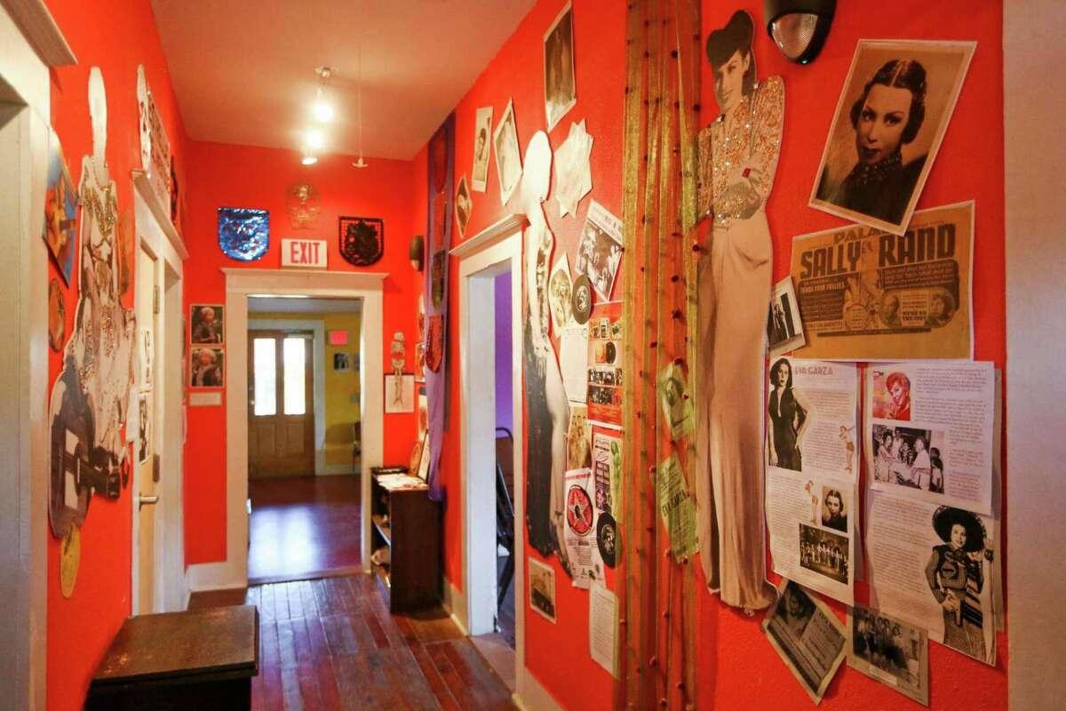 A hallway in the Esperanza Peace & Justice Center's Casa De Cuentos (House of Stories) building at Rinconcito de Esperanza in 2017.