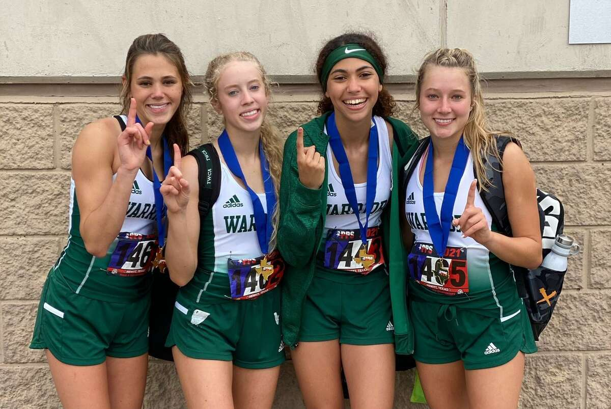 The TWCA girls 4x400-meter relay team of Mia Torres, Lindsay Worthington, Maddie Steed and Zoe Calimani took gold at state.