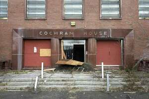 Cochran House, on the Fairfield Hills Campus, along with Shelton House and Kent House have been identified by developers as potential sites for commercial development with housing. Wednesday, January 6, 2021, in Newtown, Conn.