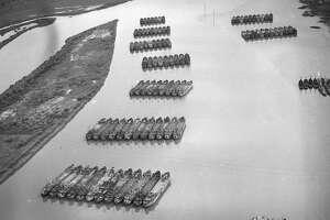 United States Navy Reserve Fleet in Suisun Bay, March 26, 1947.